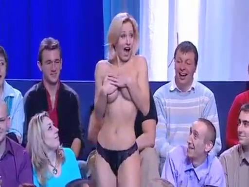 Topless on TV
